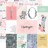 You & Me: 3X4 Journaling Cards 12x12 Patterned Paper