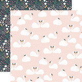 You & Me: Swan Lake Love 12x12 Patterned Paper