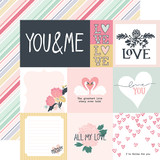 You & Me: Multi Journaling Cards 12x12 Patterned Paper