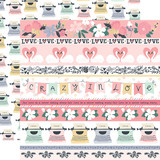 You & Me: Border Strips 12x12 Patterned Paper