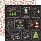 A Perfect Christmas: Multi Journaling Cards