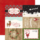 A Perfect Christmas: 4x6 Journaling Cards