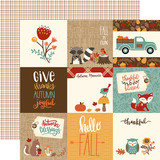 Celebrate Autumn: 4x4 Journaling Cards