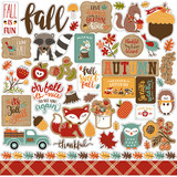 Celebrate Autumn: Element Sticker Sheet