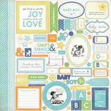 Baby Mine Boy: Element Sticker Sheet