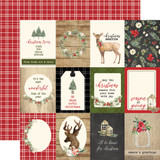Christmas: 3x4 Journaling Cards
