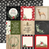 Christmas: 4x4 Journaling Cards