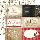 Christmas: 4x6 Journaling Cards