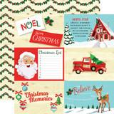 Santa's Workshop: 4x6 Journaling Cards