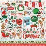 Santa's Workshop: Element Sticker Sheet