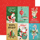 A Very Merry Christmas: 4x6 Journaling Cards