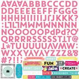Capture Life: Alpha Sticker Sheet