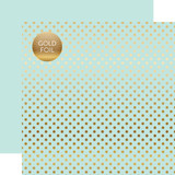 Dots & Stripes: Gold Foil Lt. Mint