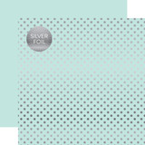 Dots & Stripes: Silver Foil Lt. Mint