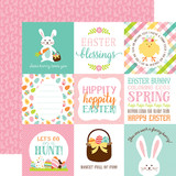 Hello Easter: 4X4 Journaling Cards