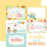 Hello Spring: 4X6 Journaling Cards