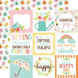 Hello Spring: 4X4 Journaling Cards