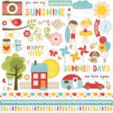 Happy Summer: Element Sticker Sheet