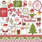 I Love Christmas: Element Sticker Sheet