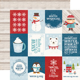 I Love Winter: 3x4 Journaling Cards