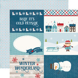 I Love Winter: 4x6 Journaling Cards