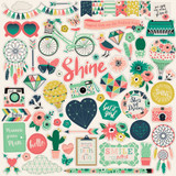 Just Be You: Element Sticker Sheet