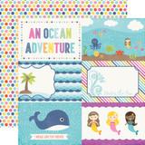 Let's Be Mermaids: 4x6 Journaling Cards
