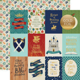 Once Upon a Time Prince: 3x4 Journaling Cards - Foil