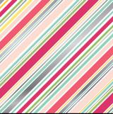 Petticoats: Diagonal Stripe Foil