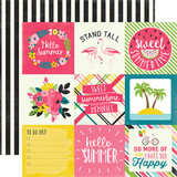 Summer Fun: 4x4 Journaling Cards
