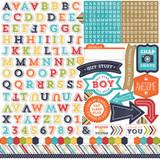 That's My Boy: Alpha Sticker Sheet