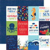 Under the Sea: 3x4 Journaling Cards