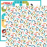 Family Night: Soda 12x12 Patterned Paper