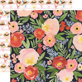 Oh Happy Day: Dreamy Floral 12x12 Patterned Paper