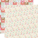 Farmhouse Market: Antique Floral 12x12 Patterned Paper