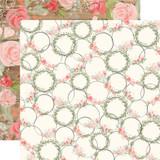 Farmhouse Market: Wreaths 12x12 Patterned Paper