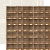 Farmhouse Market: Cubbies 12x12 Patterned Paper