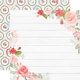 Farmhouse Market: Floral Corners 12x12 Patterned Paper