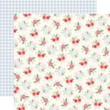 Farmhouse Market: Vintage Floral 12x12 Patterned Paper