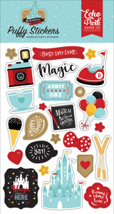 Remember the Magic: Puffy Stickers