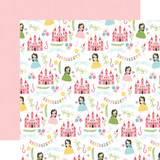 All Girl: Pretty Princess 12x12 Patterned Paper