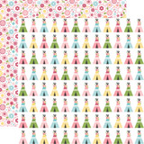 All Girl: Teepee Trails 12x12 Patterned Paper