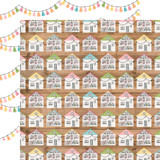 All Girl: Dollhouse Dreams 12x12 Patterned Paper