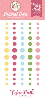 All Girl: Enamel Dots