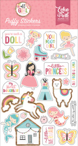 All Girl: Puffy Stickers