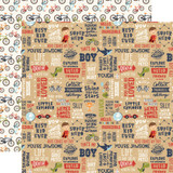 All Boy: That's My Boy 12x12 Patterned Paper