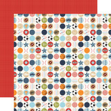 All Boy: Go See Do 12x12 Patterned Paper
