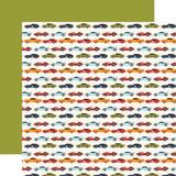 All Boy: Race Car Lanes 12x12 Patterned Paper