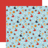 All Boy: All Star 12x12 Patterned Paper