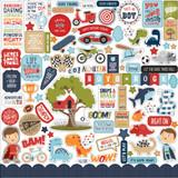 All Boy: Element Sticker